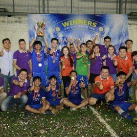 Bế mạc Giải Bóng đá Việt Giao 2015