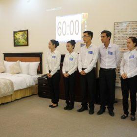 Kim Thư bước vào chung kết xếp hạng Hội thi tay nghề giỏi với tâm trạng thoải mái