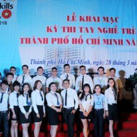 Sinh viên Việt Giao tiếp tục tranh tài trong Kỳ thi Tay nghề trẻ cấp Thành phố