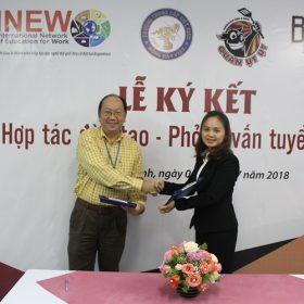 Việt Giao tiếp tục ký kết hợp tác đào tạo tuyển dụng với doanh nghiệp