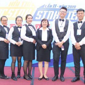 03 Sinh viên ngành Quản trị khách sạn vào vòng chung kết Hội thi Học sinh sinh viên giỏi nghề lần ...