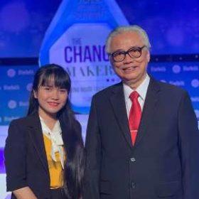 Đại diện trường Việt Giao tham dự diễn đàn Women's Summit năm 2019