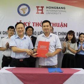 Lễ Kí Kết Thỏa Thuận Đào Tạo Liên Thông Với Đại Học Quốc Tế Hồng Bàng