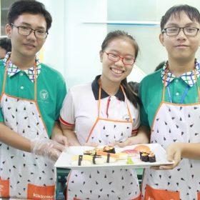 Sinh viên ngành Bếp cùng Kikkoman khám phá ẩm thực Nhật Bản