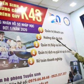 Trung cấp Việt Giao: Chủ động phòng chống dịch corona, sẵn sàng đón học sinh đi học trở lại