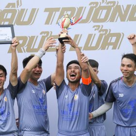 Việt Giao lên ngôi vô địch tại giải bóng đá cụm thi đua khối 8