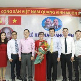 Trường Trung cấp Việt Giao có thêm Đảng viên mới
