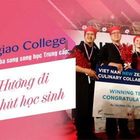 Trung cấp Việt Giao thu hút học sinh theo học nghề bếp, du lịch, khách sạn, dịch vụ giải trí...